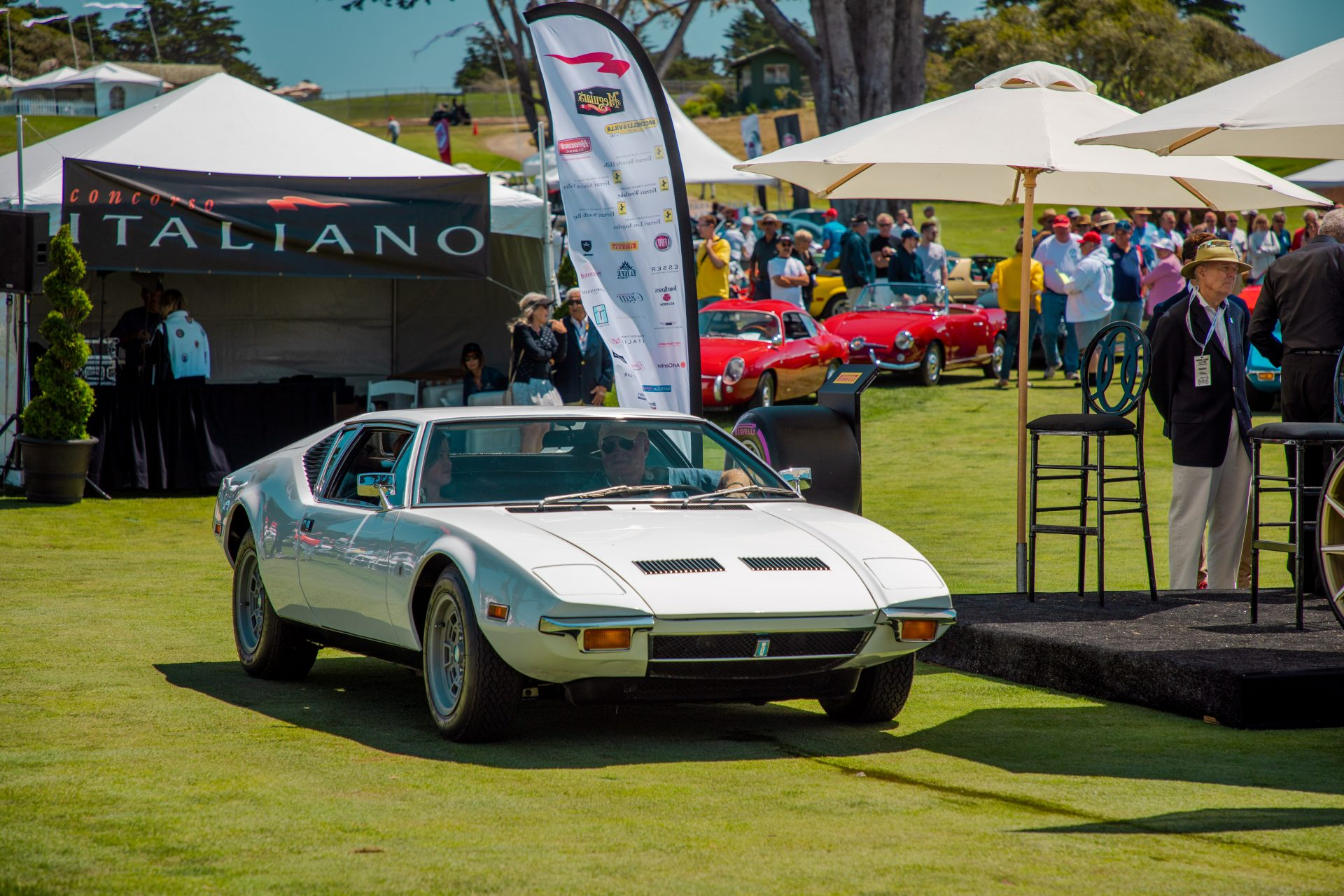 1st place DeTomaso: 1971 Pantera owned by Greg Mitchell from Coos Bay, OR