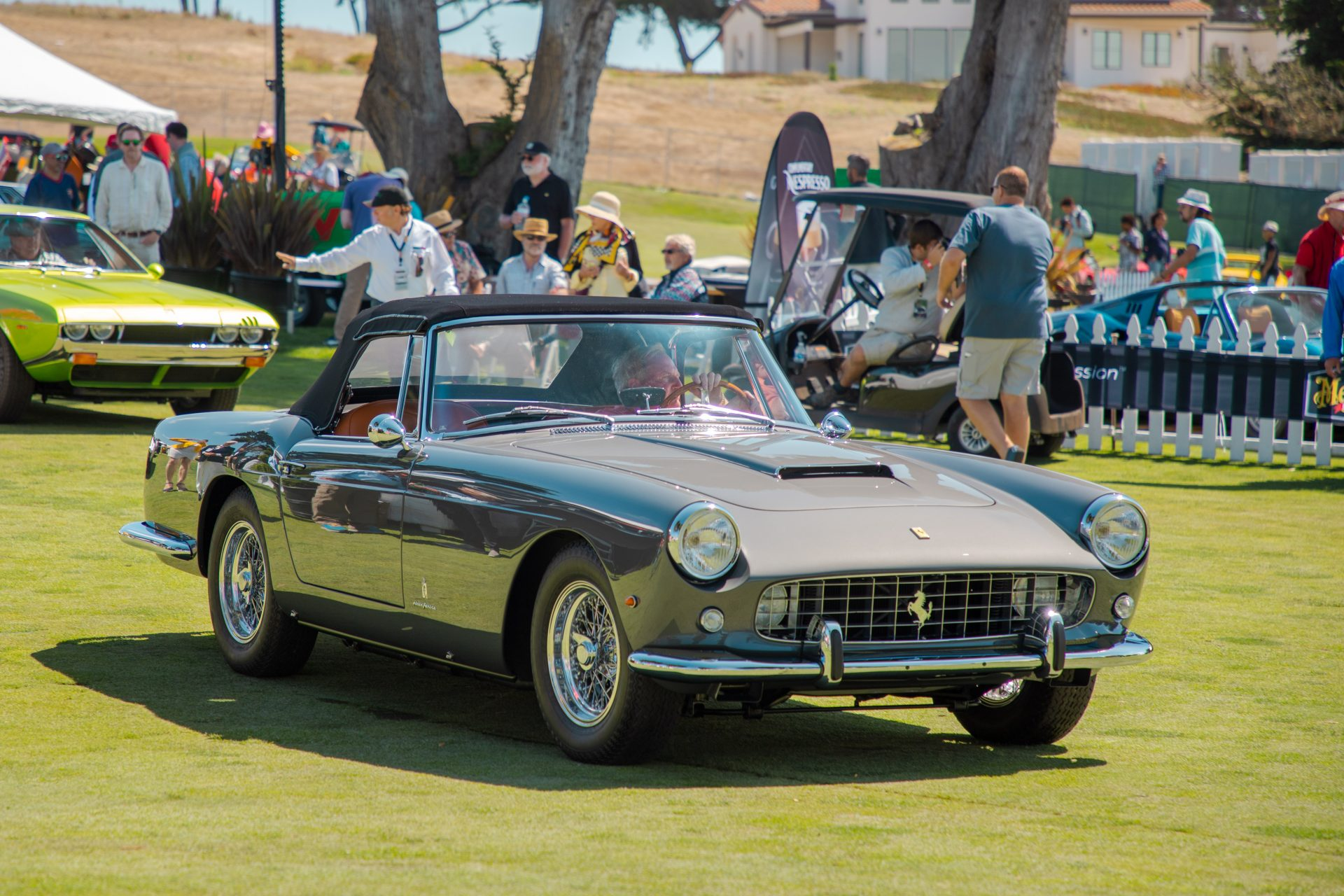 1st place Ferrari: 1960 Ferrari 250 GT Cabriolet owned by Ron Corradini from Newport Beach, CA