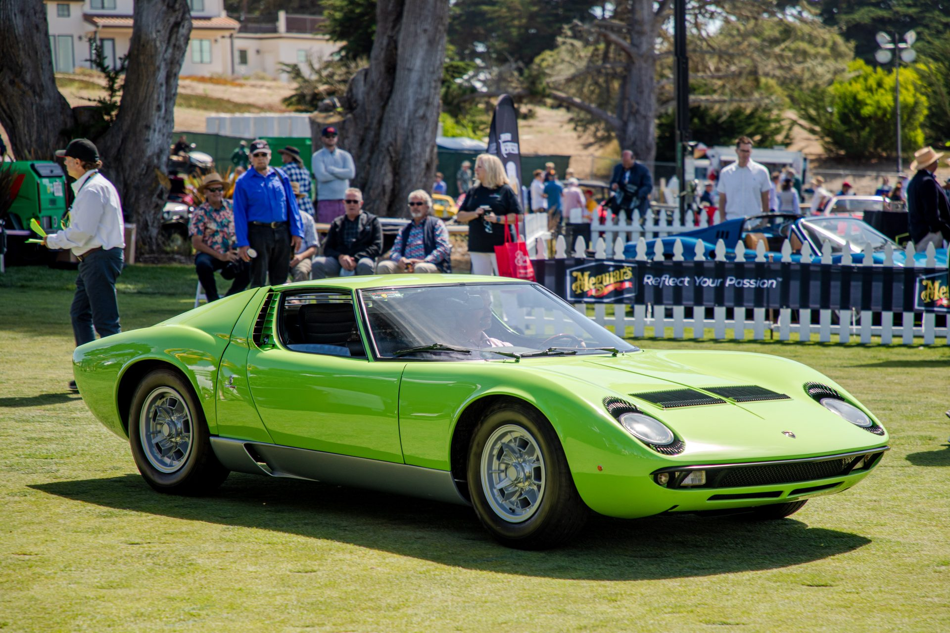 1st place Lamborghini: 1967 Lamborghini Miura P400 owned by Chris Papamichael from New Orleans, LA