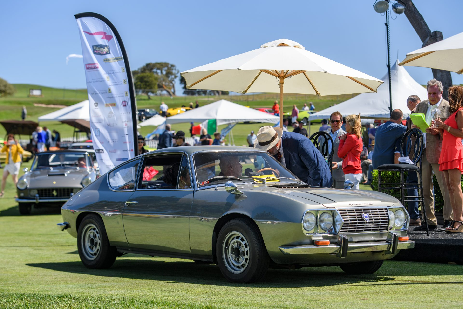 1st place Lancia: 1967 Lancia Fulvia Sport owned by Norman Schutzburger from Santa Cruz, CA