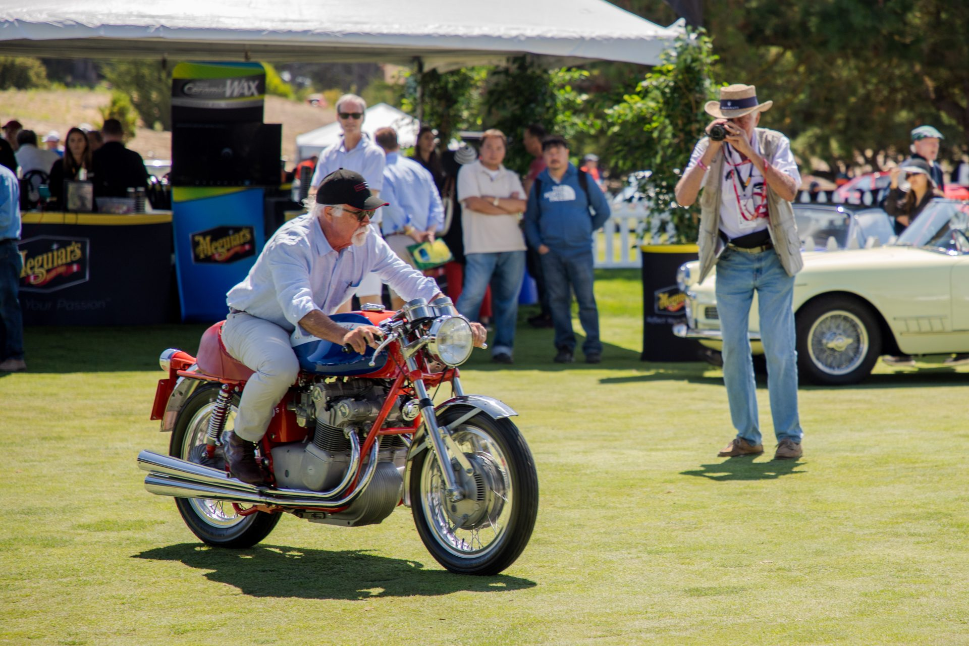 1st place Motorcycles: 1972 MV Agusto owned by the Moto Talbott Collection from Carmel Valley, CA