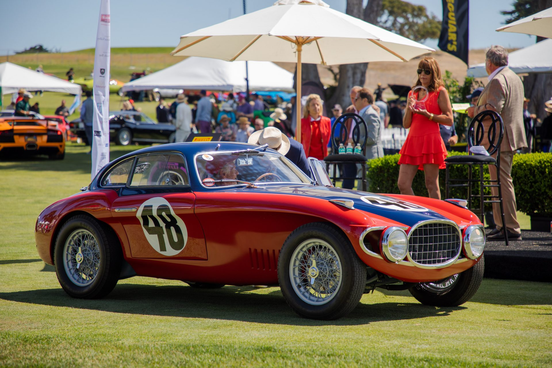 1st place Special Coachworks: 1952 OSCA MT4LM owned by Phil White from Portola Valley, CA